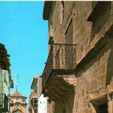 Postales: CRETAS - CAPILLA Y CALLE DE SAN ANTONIO. Lote 175058200