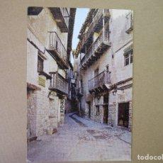 Postales: ALBARRACÍN. TÍPICA CALLE DEL PORTAL DE MOLINA. ED. SICILIA. N. 10 NUEVA. Lote 175287592