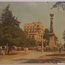 Postais: POSTAL N°5 ZARAGOZA PLAZA DE ARAGON 1959. Lote 175445839