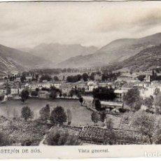 Postales: POSTAL CASTEJON DE SOS (HUESCA) - VISTA GENERAL . Lote 175593427