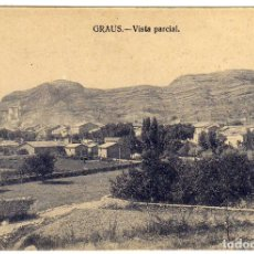 Postales: POSTAL GRAUS (HUESCA) - VISTA PARCIAL . Lote 175618859