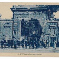 Postales: ZARAGOZA - PUERTA DEL CÁRMEN. Lote 175619178