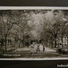 Postales: JACA-PASEO DE GALAN-7-FOTOGRAFICA HERAS-POSTAL ANTIGUA-VER FOTOS-(62.125). Lote 176017790