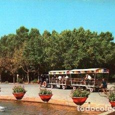Postales: ZARAGOZA - 2104 PARQUE DEL GENERAL PRIMO DE RIVERA Y TORRE DE LA FERIA DE MUESTRAS. Lote 176139840