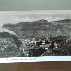 Postales: POSTAL ALHAMA DE ARAGON VISTA PARCIAL. Lote 176401052
