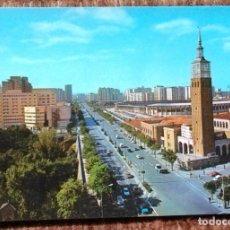 Postales: ZARAGOZA - FERIA DE MUESTRAS Y CAMPO DE LA ROMAREDA. Lote 176407905
