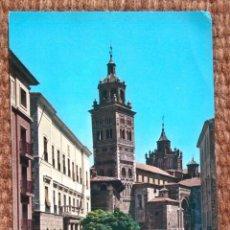 Postales: TERUEL - PLAZA DEL AYUNTAMIENTO. Lote 176408967