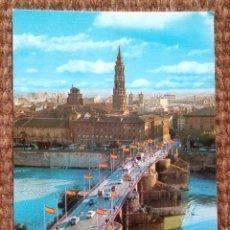Postales: ZARAGOZA - PUENTE DE PIEDRA. Lote 176409174