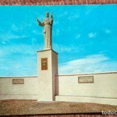 Postales: COSA - TERUEL - MONUMENTO AL CORAZON DE JESUS. Lote 176409950