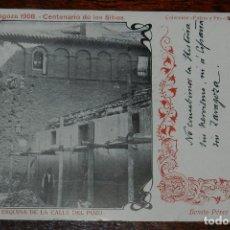 Postales: POSTAL DE LOS SITIOS DE ZARAGOZA, CENTENARIO DE LOS SITIOS 1908 - Nº 40, SANTO TEMPLO DEL PILAR, TIP. Lote 176859308