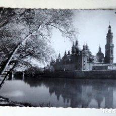 Postales: POSTAL DE ZARAGOZA: BASILICA DEL PILAR. Lote 177064589
