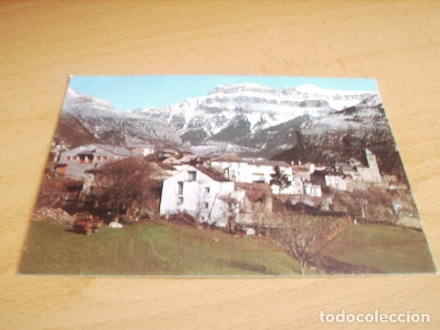 TORLA ( HUESCA ) VISTA PARCIAL AL FONDO MONDARRUEGO (Postales - España - Aragón Moderna (desde 1.940))