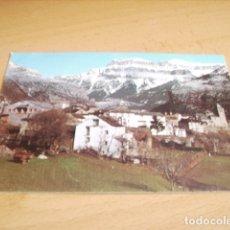 Postales: TORLA ( HUESCA ) VISTA PARCIAL AL FONDO MONDARRUEGO. Lote 177267835
