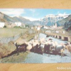 Postales: TORLA ( HUESCA ) VISTA GENERAL Y MONDARRUEGO. Lote 177267944