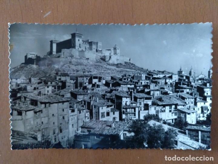 POSTAL ALCAÑIZ CASTILLO DE LOS CALATRAVOS AMPLIACION EDICIONES SICILIA (Postales - España - Aragón Antigua (hasta 1939))