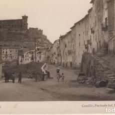 Postales: TERUEL.ALCAÑIZ. CASTILLO Y ENTRADA ALCAÑIZ. Lote 177656085