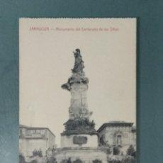 Postales: POSTAL ZARAGOZA - MONUMENTO DEL CENTENARIO DE LOS SITIOS.. Lote 177956763