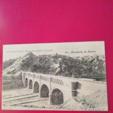 Postales: POSTAL COLECCION SALCEDO 16 CANAL DE ARAGON Y CATALUÑA. Lote 177985553