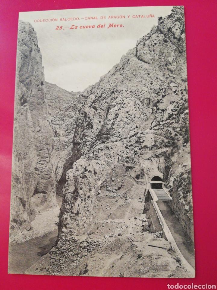 POSTAL COLECCION SALCEDO 25 CANAL DE ARAGON Y CATALUÑA (Postales - España - Aragón Antigua (hasta 1939))