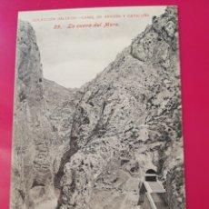 Postales: POSTAL COLECCION SALCEDO 25 CANAL DE ARAGON Y CATALUÑA. Lote 177985835