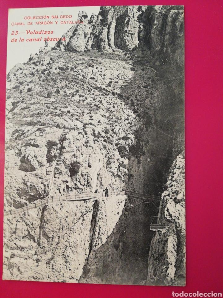 POSTAL COLECCION SALCEDO 23 CANAL DE ARAGON Y CATALUÑA (Postales - España - Aragón Antigua (hasta 1939))