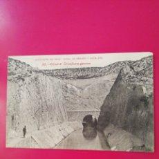 Postales: POSTAL COLECCION SALCEDO 30 CANAL DE ARAGON Y CATALUÑA. Lote 177986297