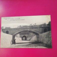 Postais: POSTAL COLECCION SALCEDO 11 CANAL DE ARAGON Y CATALUÑA. Lote 177988785