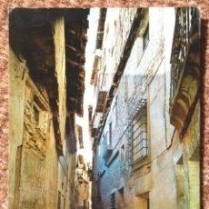 Postales: ALBARRACIN - TERUEL - CALLE DE AZAGRA. Lote 178180172