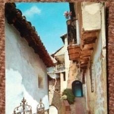Postales: ALBARRACIN - TERUEL - PORTAL DE MOLINA. Lote 178180227
