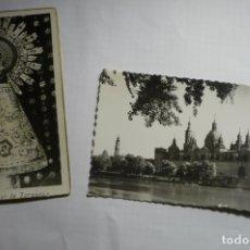 Postales: LOTE POSTALES ZARAGOZA VIRGEN Y TEMPLO ESCRITAS CM. Lote 178388755