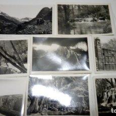 Postales: LOTE DE 7 POSTALES FOTOGRAFICAS DEL MONASTERIO DE PIEDRA ED. GARCIA GARRABELLA - SIN CIRCULAR. Lote 178901057