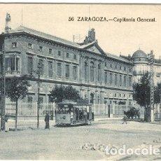 Postales: ZARAGOZA.- CAPITANÍA GENERAL.. Lote 178982680