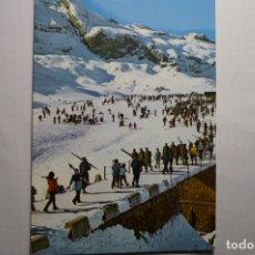 Postales: POSTAL CANFRANC CANDANCHU . PISTA GRANDE Y LA ZAPATILLA. Lote 179076721
