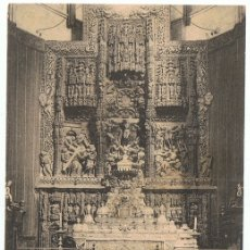 Postales: POSTAL HUESCA RETABLO DEL ALTAR MAYOR DE LA CATEDRAL . Lote 179174781