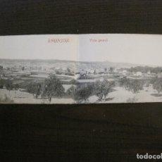 Postales: BARBASTRO-VISTA GENERAL-POSTAL DOBLE-CLICHE ARRIBAS-VER FOTOS-(63.139). Lote 179313396