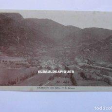 Postales: CASTEJON DE SOS Y EL SOLANO. HUESCA. SIN CIRCULAR. CCTT. Lote 179377052