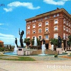 Postales: TERUEL - 28 GLORIETA DEL GENERALÍSIMO. Lote 180126757