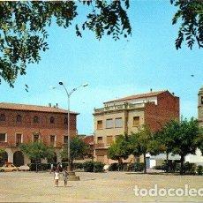 Postales: BINÉFAR - 3 AYUNTAMIENTO Y TORRE DE LA IGLESIA. Lote 180127547