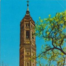 Postales: CALATAYUD, TORRE DE SAN ANDRES, ESTILO MUDEJAR - EDICIONES SICILIA Nº 8 - S/C. Lote 180327903