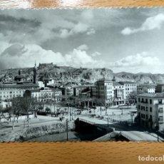 Postales: CALATAYUD ZARAGOZA VISTA PARCIAL AL FONDO EL CASTILLO EDICIONES SICILIA Nº 16. Lote 180484775