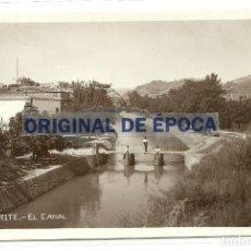 Postales: (PS-61948)POSTAL FOTOGRAFICA DE TAMARITE-EL CANAL. Lote 181035128