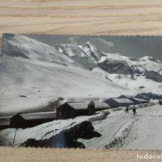 Postales: POSTAL DE CANFRANC-CANDANCHU. 69. MACIZO DE LA ZAPATILLA Y PICO DEL ASPE. ESCRITA. Lote 181986051