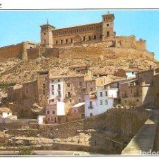Postales: POSTAL DE ALCAÑIZ ( TERUEL ) BARRIO DE LORETO Y CASTILLO CALATRAVA, EDICIONES SICILIA AÑO 1965. Lote 182222822