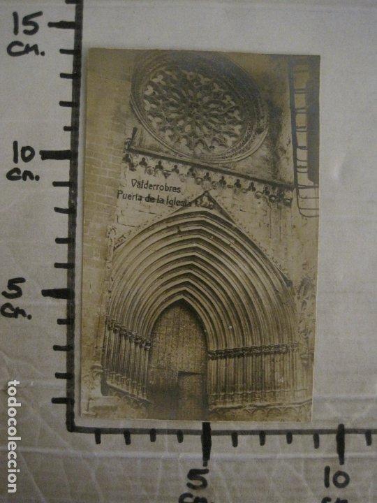 Postales: VALDERROBRES-PUERTA DE LA IGLESIA-POSTAL FOTOGRAFICA JOSE FLAMERICH-VER FOTOS-(63.803) - Foto 6 - 182307445