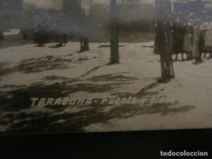 Postales: TARAZONA-FUENTE Y PLAZA DEL MERCADO-POSTAL FOTOGRAFICA ANTIGUA-VER FOTOS-(63.709) - Foto 3 - 182308348