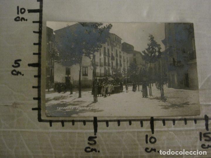 Postales: TARAZONA-FUENTE Y PLAZA DEL MERCADO-POSTAL FOTOGRAFICA ANTIGUA-VER FOTOS-(63.709) - Foto 5 - 182308348