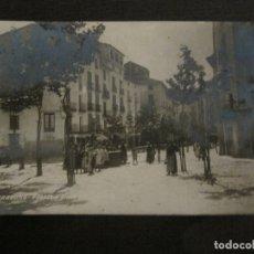 Postales: TARAZONA-FUENTE Y PLAZA DEL MERCADO-POSTAL FOTOGRAFICA ANTIGUA-VER FOTOS-(63.709). Lote 182308348