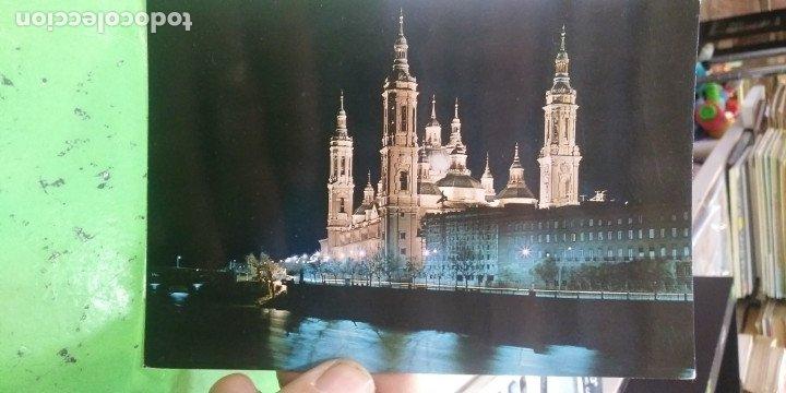 POSTAL ZARAGOZA BASILICA DEL PILAR (Postales - España - Aragón Moderna (desde 1.940))