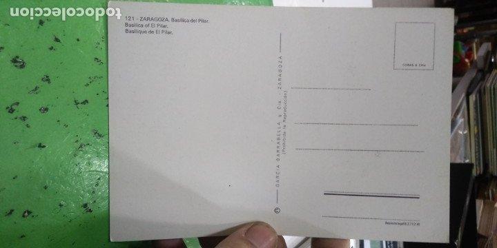 Postales: Postal Zaragoza Basilica del Pilar - Foto 2 - 182311495