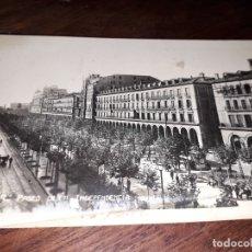 Postales: Nº 4918 POSTAL ZARAGOZA PASEO DE LA INDEPENDENCIA. Lote 182384791